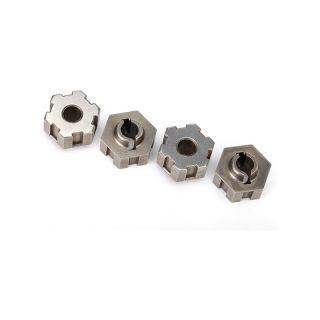 Traxxas ocelové náboje kol (4)
