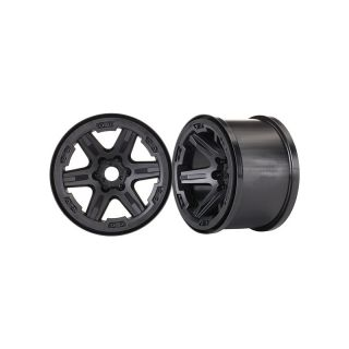 """Traxxas disk 3.8"""" černý, 17mm drážkovaný (2)"""