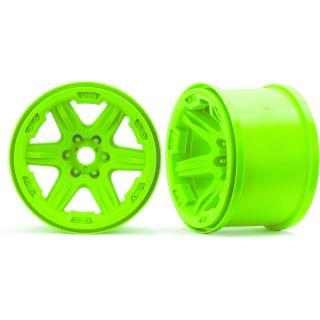 """Traxxas disk 3.8"""" zelený, 17mm drážkovaný (2)"""