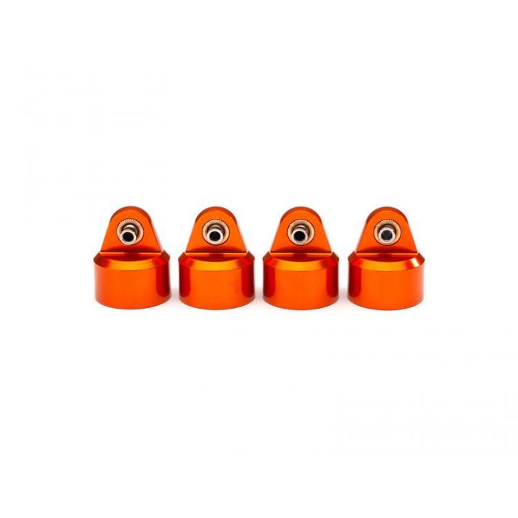 Traxxas hlava tlumiče GT-Maxx hliníková oranžová (4)