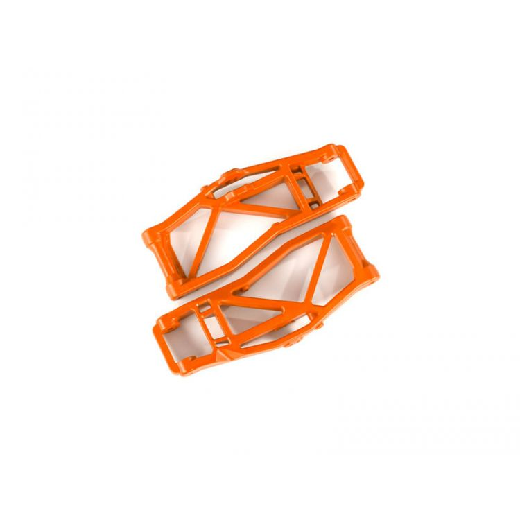 Traxxas rameno závěsu kol dolní oranžové (2) (pro WideMaxx)