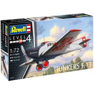 Plastic ModelKit letadlo 03870 - Junkers F.13 (1:72)