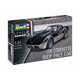 Plastic ModelKit auto 07646 - '78 Corvette Indy Pace Car (1:24)
