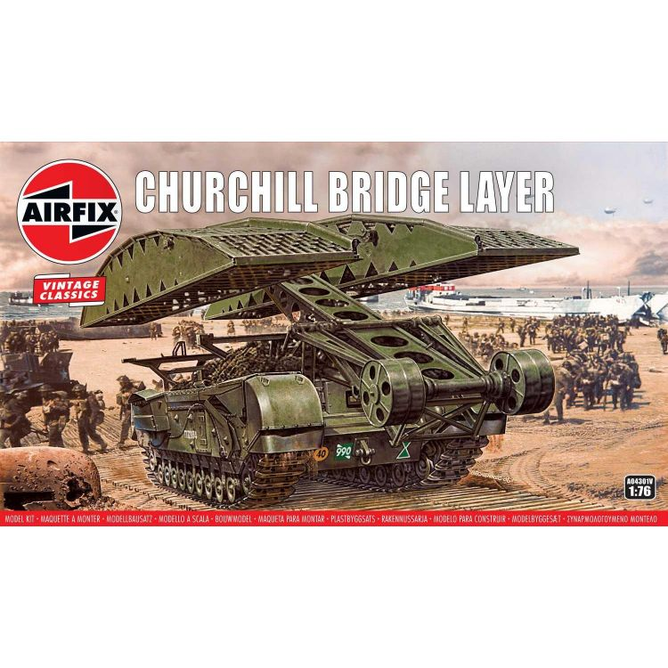 Classic Kit VINTAGE military A04301V - Churchill Bridge Layer (1:76)