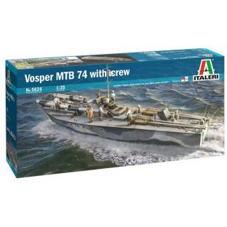 Model Kit loď 5624 - Vosper MTB 74 with crew (1:35)