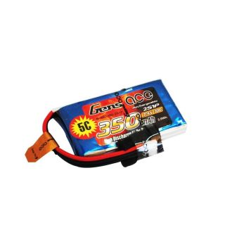 Gens ace 350mAh 7.4V 30C 2S1P Lipo Battery Pack