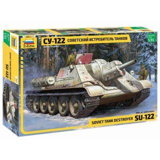 Model Kit military 3691 - Soviet tank Destroyer SU-122 (1:35)