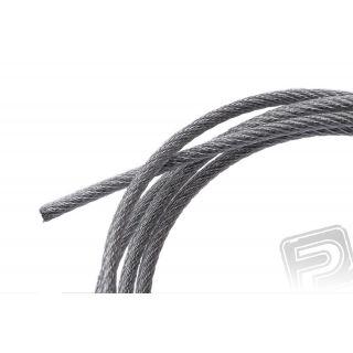 Nylon-ocelové lanko 2mm, délka 1220mm