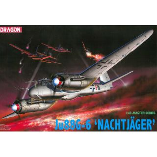 Model Kit letadlo 5509 - Ju88G-6 NACHTJAGER (1:48)